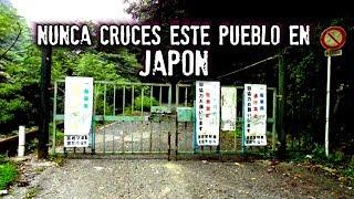 Nunca cruces este pueblo en Japón