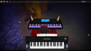 Requiem der Morgenröte - Attack on Titan by: Linked Horizon on a ROBLOX piano.