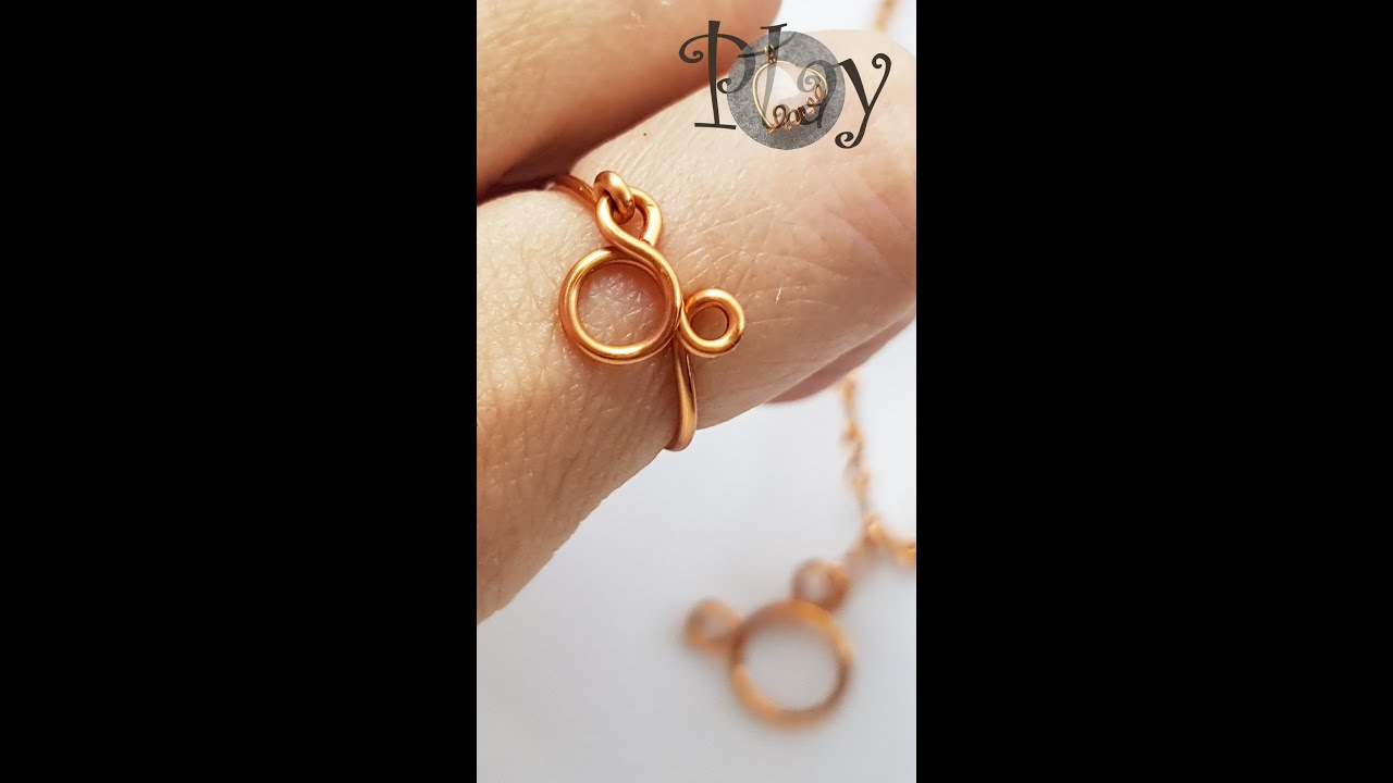 Play with wire   Cute bear   Rings   Pendant   Simple 629 #Shorts