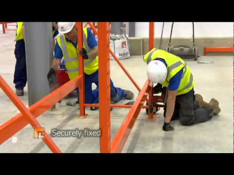 pallet racking installation instructions