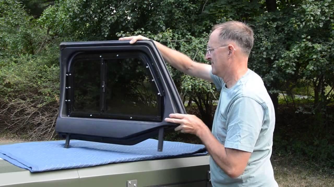 Jeep Wrangler Jk And Jku Half Door Prototype Sliders For