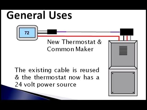 Fast Stat Common Maker How To Install New Wi Fi Thermostat Without