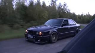 bugatti veyron 16 4 1001 hp vs bmw m5 e34 turbo by ag uncut 4k one take
