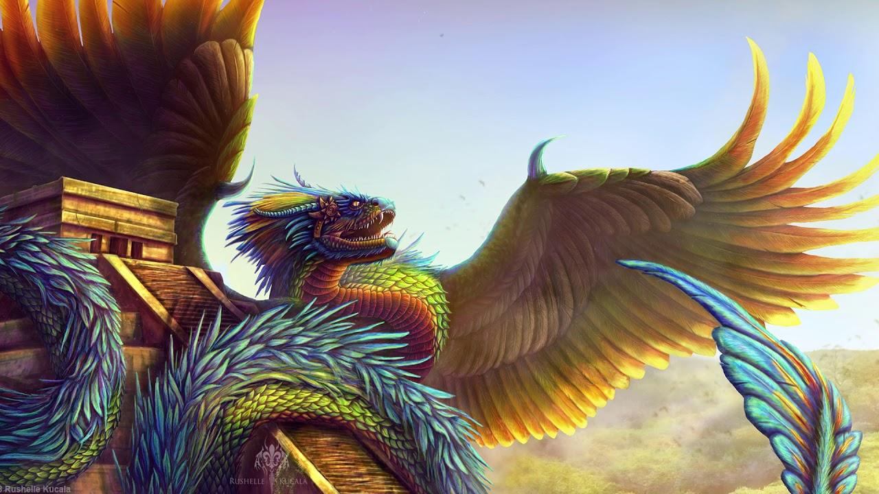 крылатая змея картинки