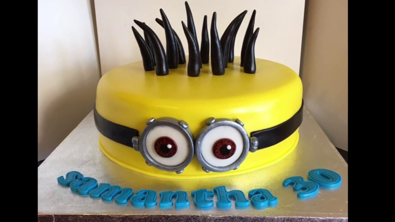 How to minion cake tutorial despicable me youtube how to minion cake tutorial despicable me baditri Image collections