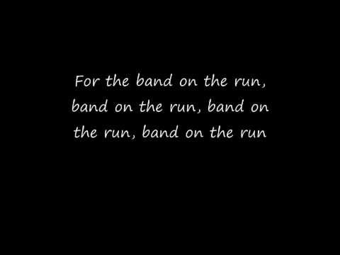 paul mccartney - band on the run - lyrics