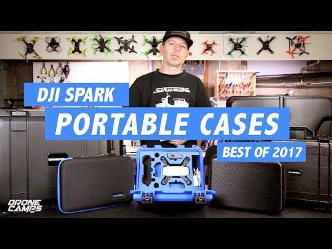 DJI Spark & DJI Mavic - Best Portable Cases for 2017