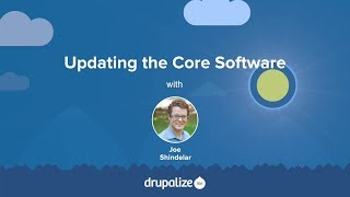Drupal 8 User Guide: 13.5. Updating the Core Software