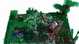 Lego Jurassic Park Buildings