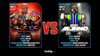 Real Steel WRB II Blac Jac VS Albino The Great White Hope NEW UPDATE (Живая Сталь)