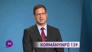 Kormányinfó 139