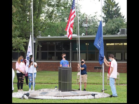 South Plainfield Middle School 911 Memorial 2020