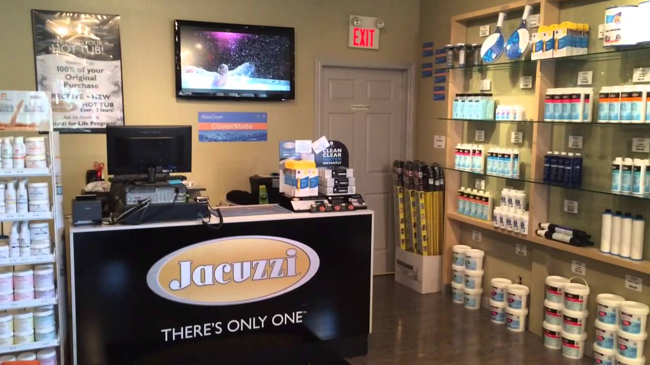 Jacuzzi Whitby - Hot Tub Supplies - YouTube