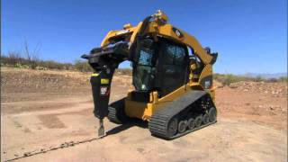 Cat® Hammer Work Tool Attachment for Loader Applications