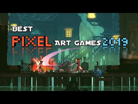 Top 10 Best Pixel Art Games For Android 2019 | Pixel Graphics Game |