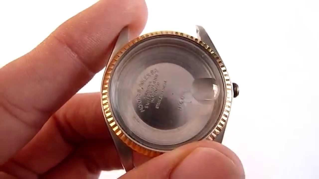 A la venta rolex caja tapa bisel y cristal originales for Como saber si es marmol