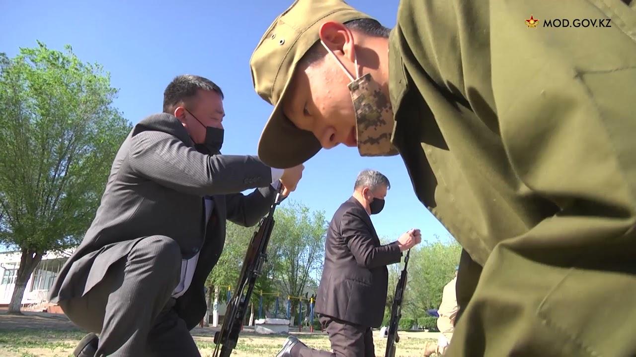 Қарулы Күштердің ардагерлері Қапшағай гарнизонының десанттық-шабуылдау бригадасына барып қайтты