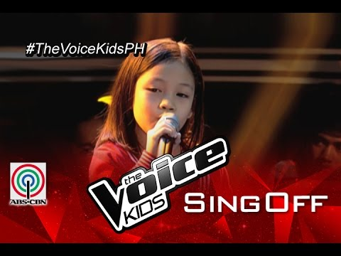 """The Voice Kids Philippines 2015 Sing-Off Performance: """"Sa Ugoy Ng Duyan"""" by Kristel"""