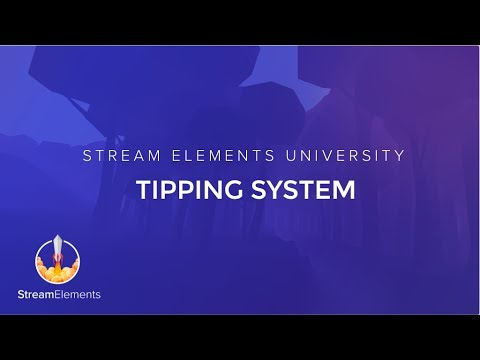 Tipping System – StreamElements