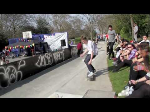 Telegraph Hill Skate Park launch