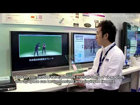 How to play free-viewpoint video technology