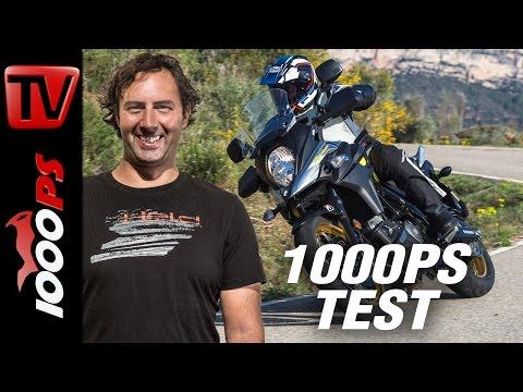 1000PS Test - Suzuki V-Strom 650 / XT - Mehr Leistung, Mehr Elektronik, Besseres Design