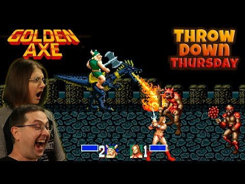 Play Golden Axe - THROW DOWN THURSDAYS - Eric & Mary Let's Play Part 2 - SEGA Genesis