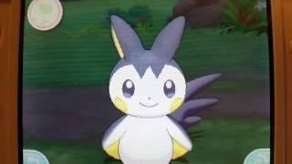 Emolga listens to karaoke - Pokémon Sun