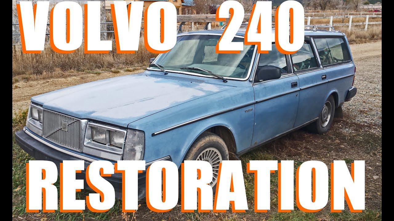 Restored volvo 240
