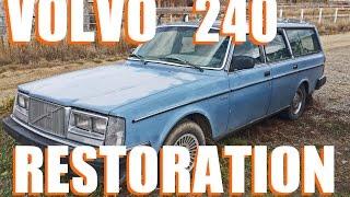 1984 Volvo 240 Wagon Restoration Episode 1