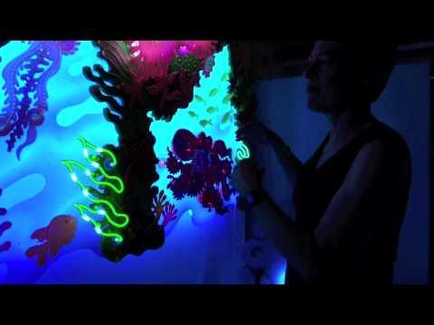Enter into the World of Neon Artist Candice Gawne