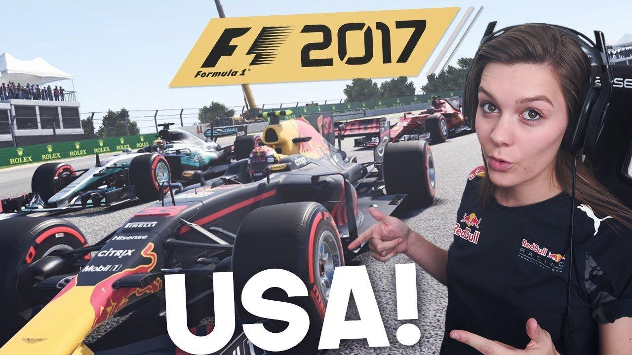 MAX VERSTAPPEN INHAALACTIE! F1: 2017 USA! F1 AMERICA RACE 2017! (Formule 1: 2017)