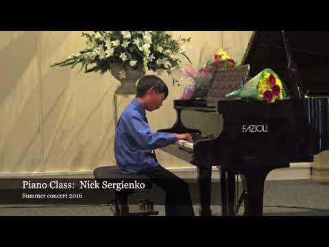 Amadeus Music Academy - Nick Sergienko's Piano Class