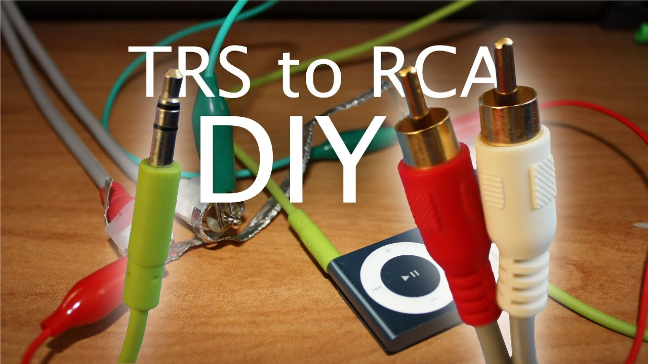 Wiring A Stereo Headphone Jack To Speaker Diy Audio Connector Adapter 3 5mm Analog To Red White A