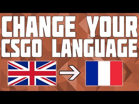 How To Change The Language In CSGO!