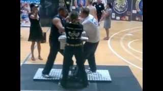 adrian lutai finale 90 kg sx campionato italiano livorno 10 09 2011