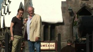 grand opening for the wizarding world of harry potter with stars from the movies