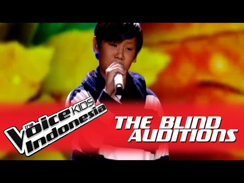 "Yonathan ""Rude"" I The Blind Auditions I The Voice Kids Indonesia GlobalTV 2016"