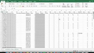 Downloading Qualtrics Data in Excel