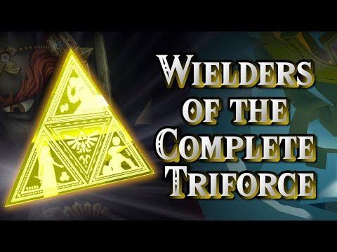 Wielders Of The Complete Triforce  Legend of Zelda