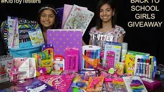 (Ended) Back to school Girls Giveaway - KidToyTestersHD (Yumiko & Sachiko)