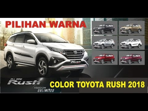 grand new avanza pilihan warna brand toyota camry engine rush 2018 full color youtube