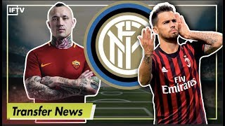 Nainggolan & suso to inter, candreva to ac milan?! | serie a transfer news