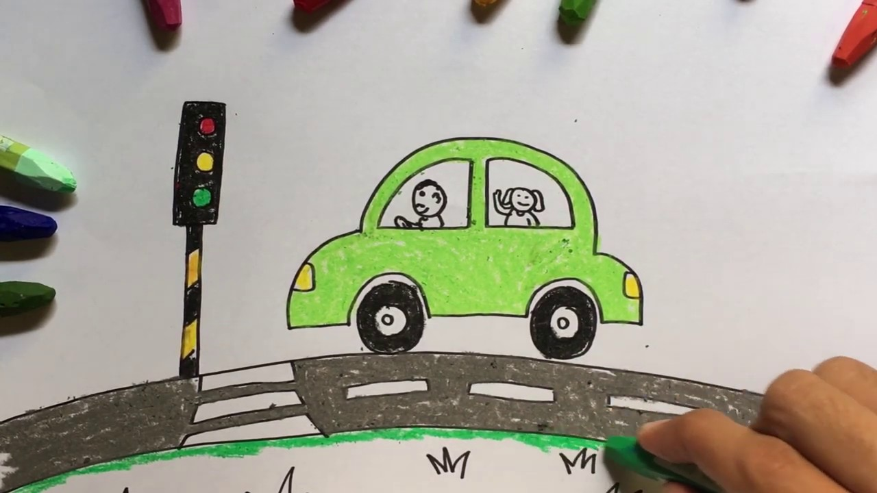 Step By Step Drawing Cars