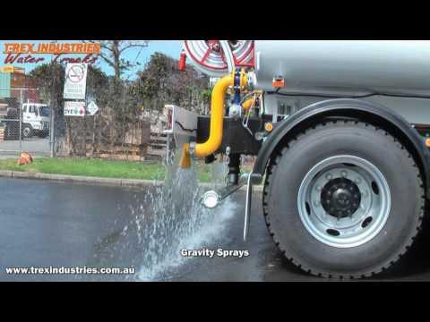 T-Rex Industries Water Truck. Hino FM2630 Auto