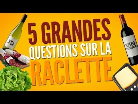 Top 5 des grandes questions qui agitent le monde de la raclette