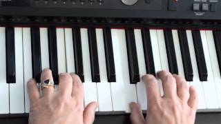 London Bridge on piano