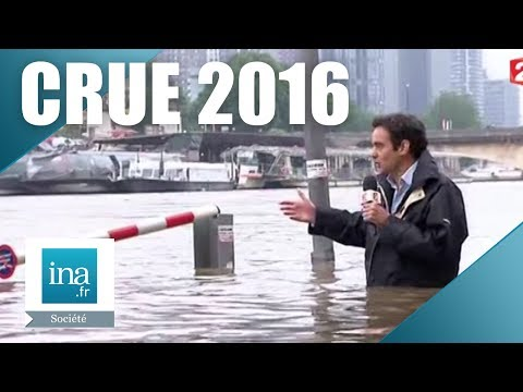 Juin 2016, inondations records en France | Archive INA