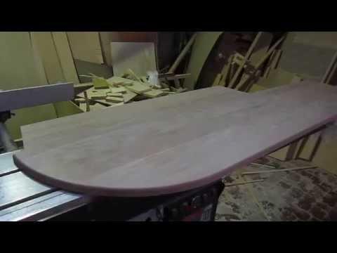 Столешница-подоконник из ясеня