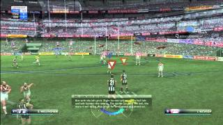 AFL LIVE 2011 VIDEO GAMEPLAY